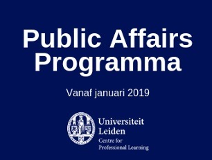 Public Affairs Programma Universiteit Leiden