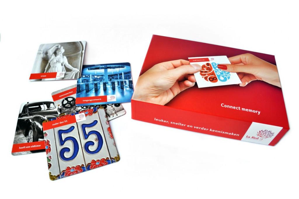 ConnectMemory doos en kaartjes